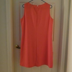 New York & Company Dresses - NY&CO NWOT  CORAL SHEATH DRESS SIZE 14